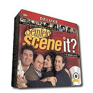 Toy Game Deluxe Seinfeld Scene It? The Dvd Game With Four Collectible Metal Tokens, 175 Trivia Cards & More