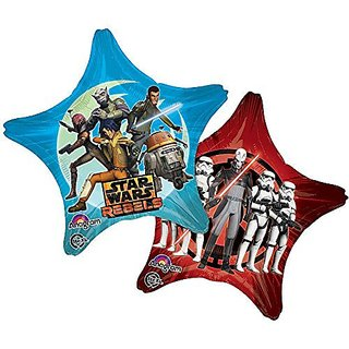 Mayflower BB67278 Star Wars Rebels 28 in. Star Balloon