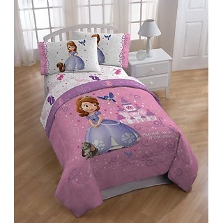 Sofia the First Sweet Princess Twin Full Size Comforter