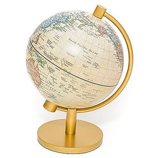 Classic Globe of the World with Lighting 5 1 2