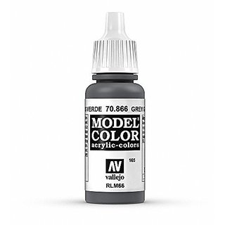 Vallejo Grey Green Model Color Paint, 17ml
