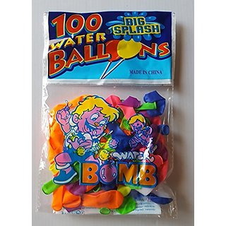 500 Water Balloons. Assorted Colors. include 5 easy to use fill tools