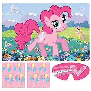 My Little Pony Friendship is Magic Party Game Poster (1ct)