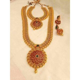Buy gram gold necklace for wedding online get 0 off gram gold necklace for wedding mozeypictures Gallery