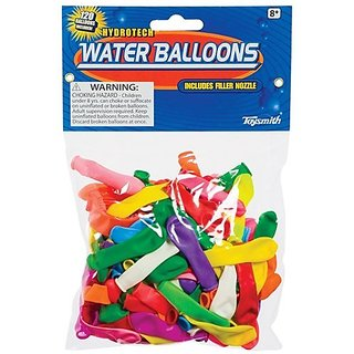 Toysmith 02771 Water Balloons 120 Count Assorted Colors