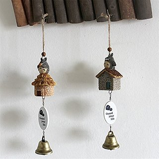 OliaDesign Totoro Wind Chimes My Neighbor Totoro (Set of 2) Action Figure