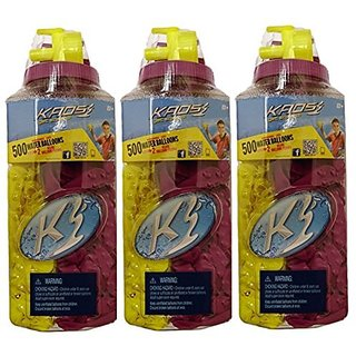 500ct Water Splashers Water Bombs Team Tubes Balloons -Biodegradable (3-pack)