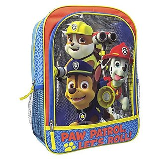 Paw Patrol Boys Paw Patrol Backpack Patrol Roll, Multi, One Size
