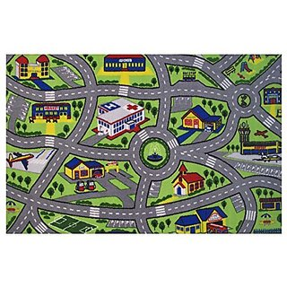 Fun Rugs Fun Time Driving Fun Novelty Rug, 51 x 78