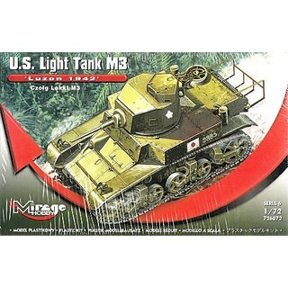 Mirage Hobby US Light Tank M3 Luzon 1942