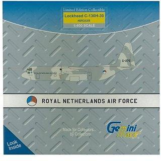GeminiJets GeminiMacs Netherlands Air Force C-130H (1:400 Scale)