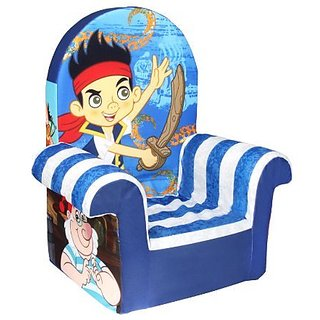 Marshmallow Childrens Furniture - High Back Chair - Disneys Jake and Neverland Pirates