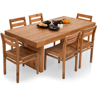 Shagun Arts - Jordan- 6 Seater Dining Table Set