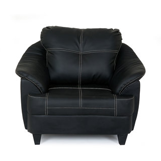 ROVER SOFA 1 STR BLACK