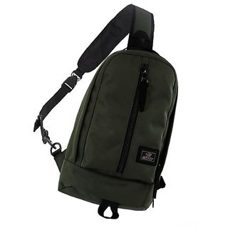 ENVOY Sling Shoulder Backpack Cross Body Bag Pack Fanny Daypack (Army Green)