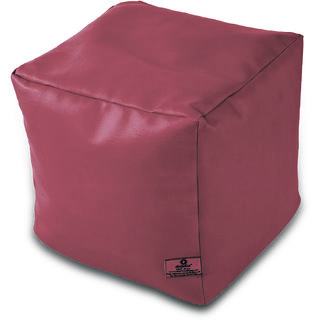 Dolphin Footstool Puffy Bean Bag-Fawn-With Bean/Filled