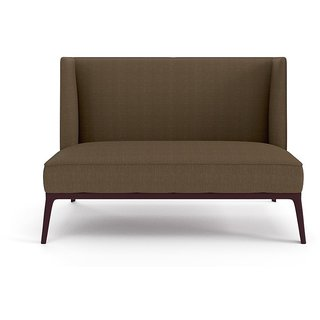 Tezerac -Petersburg Two Seater Sofa - Brown