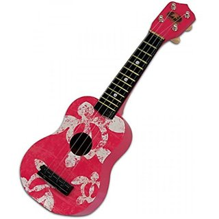 Pink Honu Ukuele 17