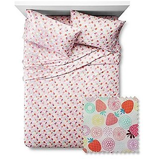 Berry Brights Twin Sheet Set- Pink Multi