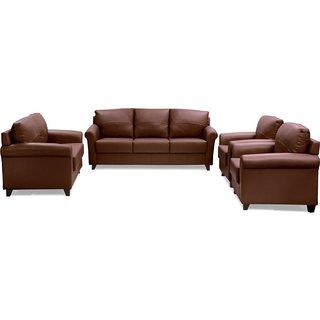 FNU Seven Seater Sofa Set 3+2+1+1 (Warm Tan)
