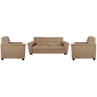 FNU Five Seater Sofa Set 3-1-1 (Wheat)