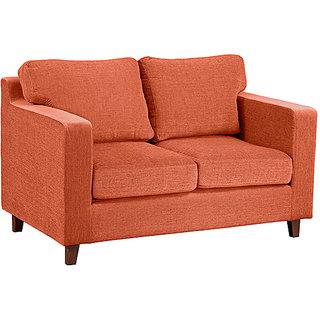 Forzza -Alton 2 Seater Sofa Rust
