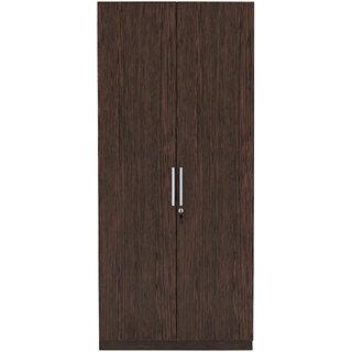 INTEX STYLES - FEDRAL TWO DOOR WARDROBE (WENGE COLORED)