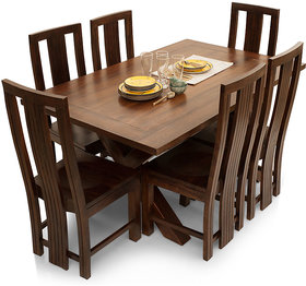 Shagun Arts - Clovis-Capra 6 Seater Dining Table Set