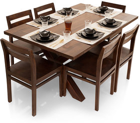 Shagun Arts - Clovis- 6 Seater Dining Table Set