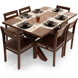 Shagun Arts - Clovis- 6 Seater Dining Table Set