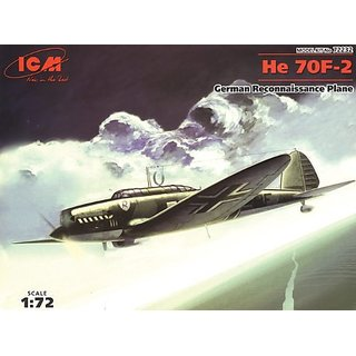 ICM Models He 70F-2 German Air Force Building Kit