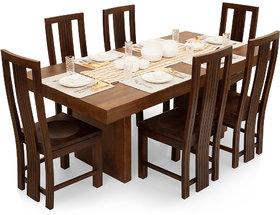 Shagun Arts - Jordan-Capra 6 Seater Dining Table Set