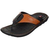 Kolapuri Centre Men's Tan Slip On Outdoor Sandals - 103264910