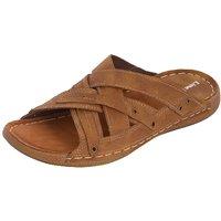 Kolapuri Centre Men's Tan Slip On Outdoor Sandals