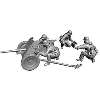 Zvezda Models 1 72 German Anti-Tank Gun PaK-36 With Crew