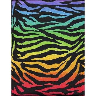 Fierce Zebra Microfiber Sheet Set Multi-Color Full Sheets By Morgan Kids
