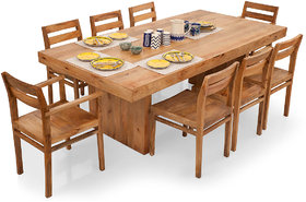 Shagun Arts - Jordan- 8 Seater Dining Table Set