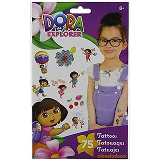 Dora the Explorer Temporary Tattoos - 75 ct.