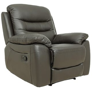 INTEX STYLES - STUDIO MANUAL RECLINER (BLACK COLORED)