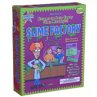 Be Amazing Toys Slime Factory Science Experiment Kits