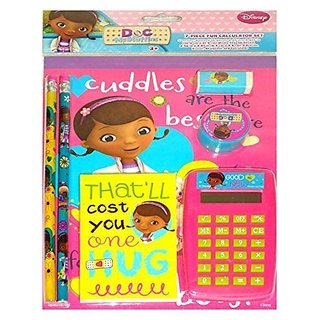 Disney Doc McStuffins 7pc Calculator Set