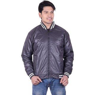 Adi  Adi Grey Round Neck Long Sleeve Jacket For Men