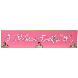 Chick Lingo 8501FW Princess Doodles Clipart Decorative Sign