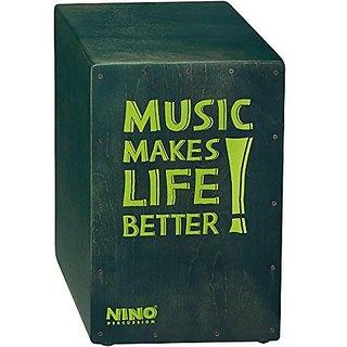 Nino Percussion NINO952GY Better Life Series Cajon, Grey