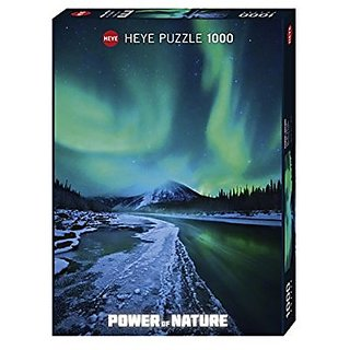 Heye Northern Lights 1000 Piece Power of Nature Jigsaw Puzzle