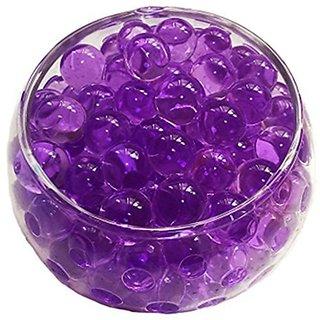Crystal Soil Water Beads, 2oz 57g, Aqua Gel Ball for Wedding Flower Planting Mud Vase Decor Filler (Purple)