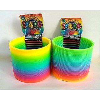 Jaru Rainbow Spring Slinky - 2 Pack