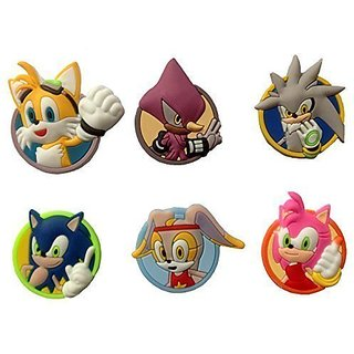Sonic the Hedgehog Fridge Magnets 6 Pcs Set #1