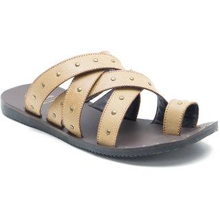 Red Tape Men's Tan Open Sandals