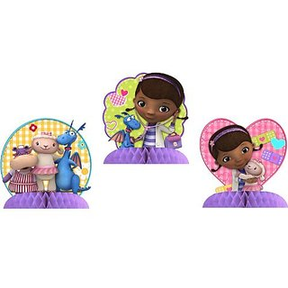 Doc McStuffins Centerpiece Decoration (3 Count)